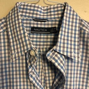 Medium long sleeved Nautica Dress Shirt